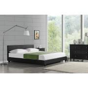 """Corium® Čalouněná postel """"Barcelona"""" HTB-1007 180x200 cm černá"""