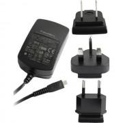 Blackberry Caricabatterie Originale Da Parete Per Casa Microusb Acc-18080-203 2.5w Black Per Modelli A Marchio