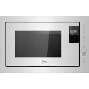 Cuptor cu microunde incorporabil Beko MGB25333WG, 900 W, 25 L, 5 niveluri de putere, Auto Cook, Grill, Touch Control, Sticla Alba