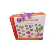 infantiono 3D Puzzle Set - 25 Fun Puzzles Ages 1-3 71 Pieces