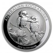 Kookaburra Stříbrná mince 1 AUD Australian Ledňáček 1 Oz 2013