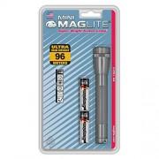 Maglite M2A096 Aa Mini Linterna, Gris