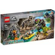 LEGO Jurassic World - Lupta T-Rex contra Dino-Mech 75938
