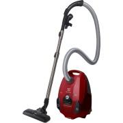 Aspirator cu sac Electrolux Silent Performer ESP73RR, 550W, 3.5 l, Hygiene Filter 12, perie DustMagnet™, perie Parketto, Rosu