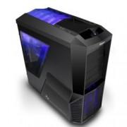 Кутия Zalman Z11 PLUS, ATX Mid Tower, 2x USB3.0, черна, без захранване