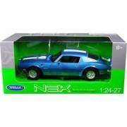 1972 Pontiac Firebird Trans Am Blue 1/24 - 1/27 Diecast Model Car by Welly