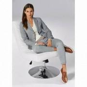 Circolo Jersey Blazer or Jersey Suit Trousers, 14 - Cream/Blue - Jersey Blazer