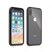 Husa Full Cover 360 Forcell Magneto iPhone 7/8 Black