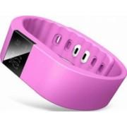 Bratara Fitness Cronos Smart + Heart Rate Magenta Resigilat