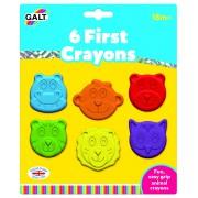 Set 6 creioane colorate Galt Animalute, dezvolta creativitatea si indemanarea