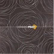 Dekor Pilch Magma 2 czarny 30x60 __DARMOWA DOSTAWA OD 1600zł__