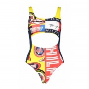 Tommy Hilfiger COSTUME INTERO CHEEKY CUT OUT FANTASIA DONNA