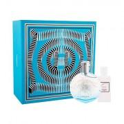 Hermes Eau des Merveilles Bleue confezione regalo eau de toilette 50 ml + lozione corpo 40 ml da donna