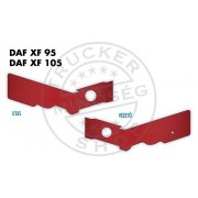 Daf 95/105 XF 2011-ig ülés láb borítás PÁR PIROS