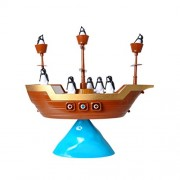 TOYMYTOY Pirate Ship Penguin Balance Game Pirate Boat Game Educational Toys