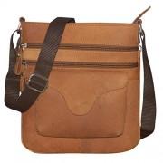 Style98 Unisex Messenger Bag(Tan,5040Hjm8)