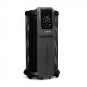 Datscha Analog, 360° термостат, радиаторно нагряване, 2200W, черен