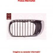 Grila radiator Bmw Seria 3 (E46), Sedan/Combi,10.2001-06.2005, stanga, crom/negru, 51137030545, 200905-5 Kft Auto
