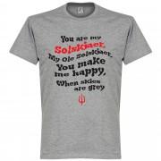 Retake Ole Solskjaer Song BOYS T-Shirt - grau - 4 Years