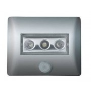 80194 Osram LED Nightlux batterilampe med sensor IP54 Silver