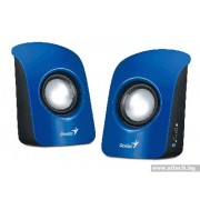 SPEAKER, GENIUS SP-U115, 1.5W RMS, Blue (31731006102)