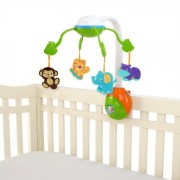 Bright Starts-8352 Carusel Soothing Safari 2 In 1 Mobile