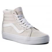 Vans Sneakersy VANS - Sk8-Hi Reissue VN0A2XSBU5L (Pig Suede) Moonbeam/True