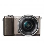 Sony Alpha ILCE-5100 24.3MP Castanha + E PZ 16-50mm MILC