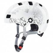 Uvex - Kid 3 - Casque de cyclisme taille 55-58 cm, blanc/gris