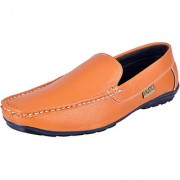 Fausto MenS Tan Casual Loafers (FST 6049 TAN)