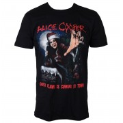 tricou stil metal bărbați Alice Cooper - Santa Claws - ROCK OFF - ACTEE15MB