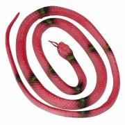 Geen Rubberen slang rood 140 cm