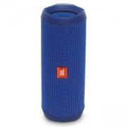 Водоустойчива Bluetooth тонколона JBL FLIP 4 BLUE, 2 x 8W, Li-Ion 3000 mAh, синя, JBL-FLIP4-BLUE