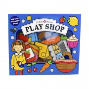 Priddy Books Play Shop Lets Pretend - Ages 0-5 - Board Book - Priddy Books
