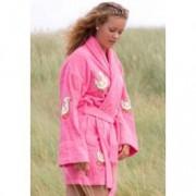 Aegean Apparel Dames badjas eendjes