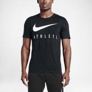 Tee-shirt Nike Swoosh Athlete pour Homme - Noir