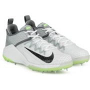 Nike LUNAR AUDACITY Cricket Shoes For Men(White, Grey)