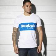 Reebok Мужчины- Спортивная футболка Reebok Archive Stripe