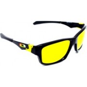 Oakley JUPITER SQUARED Rectangular Sunglass(Yellow)
