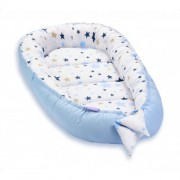 Cosulet bebelus pentru dormit Baby Nest Cocoon XL 90x50 cm Milky Way