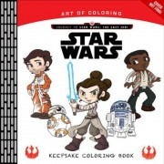 Art of Coloring Journey to Star Wars: The Last Jedi: Keepsake Coloring Book, Paperback