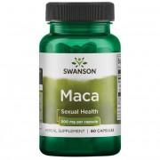 Swanson Maca Extract 500 mg 60 kapslí