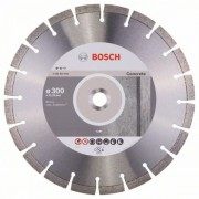Диск диамантен за рязане Expert for Concrete, 300 x 22,23 x 2,8 x 12 mm, 1 бр./оп., 2608602694, BOSCH