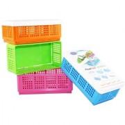 Kudos Flexi Fold Space Saving Multipurpose Boxes ( pack of 4 )