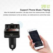 ER A7 Inteligentes De Seguridad De Coches Digital Display Entertainment Bluetooth MP3 Player