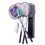 Spartan sport set badminton 4 palete, fileu si 2 fluturasi
