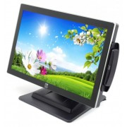 Monitor 19 inch LED Wide, ELO ET1919L-AUWA-1-GY, Black, Touchscreen, Cititor Card