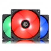 Комплект от 3 бр. вентилатори ID-Cooling XF-12025-RGB-3, 120 мм с RGB подсветка и хидравличен лагер, XF-12025-RGB-3_VZ