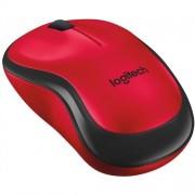 Myš Logitech M220 Silent, červená