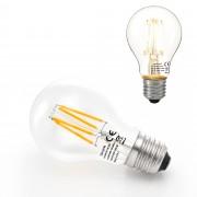 [lux.pro]® Bombilla LED E27 de filamento blanco cálido 2700K luz 350lm 3W